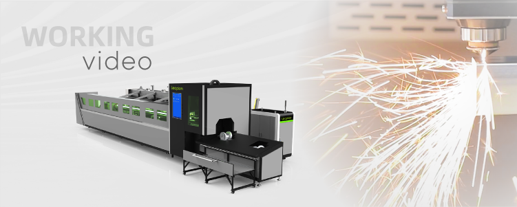 automatic tube laser cutting machine